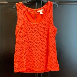 Beautiful Lined Tank Blouse